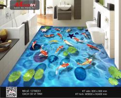 Gạch 3D Cá Chép nền 13766051 - 15.000.000 đ
