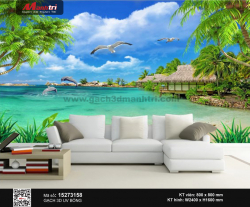 Gạch 3D Biển xanh  15273158 - 3.490.000 đ/bộ