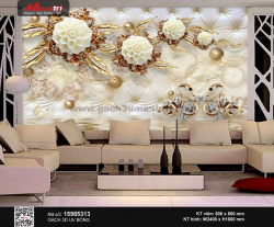 Gạch 3D Hoa trang sức 15985313 - 3.490.000 đ/bộ