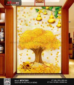 Gạch 3D Cây Kim Tiền MTKT001 - 9.000.000 đ