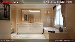 Mẫu thiết kế gạch 3D phòng tắm 1