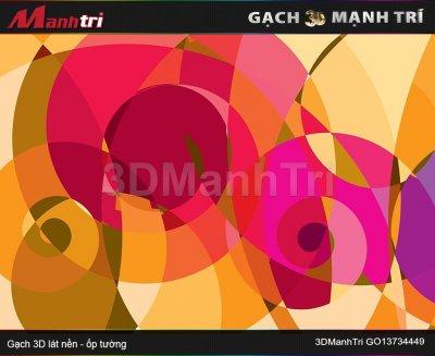 Gạch 3D Mạnh Trí GO13734449