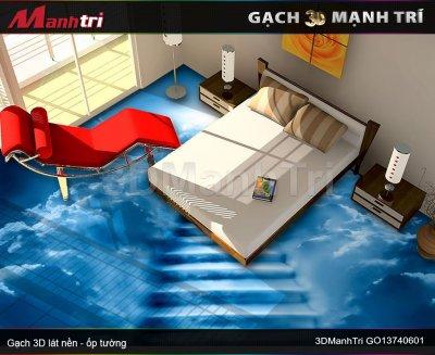 Gạch 3D Mạnh Trí GO13740601