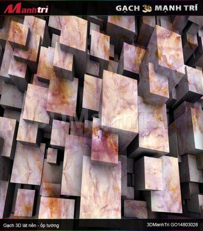 Gạch 3D Mạnh Trí GO14803028