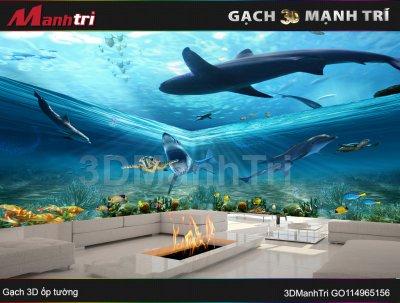 Gạch 3D Mạnh Trí GO14965156