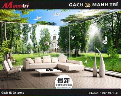 Gạch 3D Mạnh Trí GO14981046