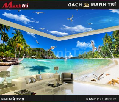 Gạch 3D Mạnh Trí GO15066361