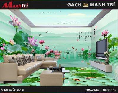 Gạch 3D Mạnh Trí GO15322163