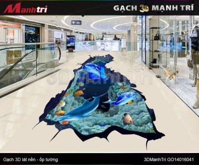 GẠCH 3D MẠNH TRÍ GO14016041