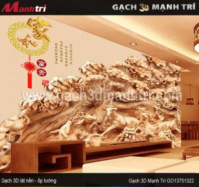 Gạch 3D Mạnh Trí GO13751322