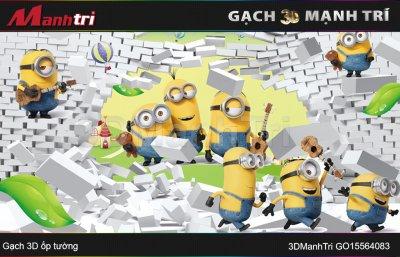 GẠCH 3D MẠNH TRÍ GO15564083