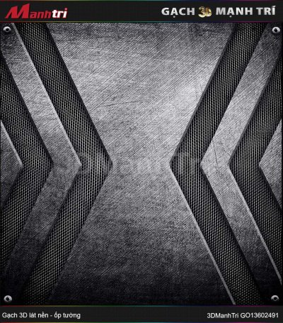 Gạch 3D Mạnh Trí GO13602491