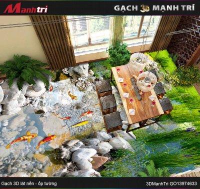 GẠCH 3D MẠNH TRÍ GO13974633