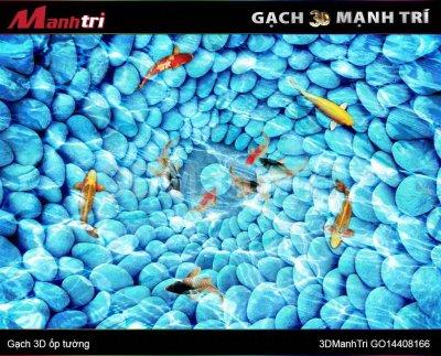 Gạch 3D Mạnh Trí GO14408166