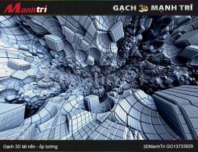 Gạch 3D Mạnh Trí GO13733929