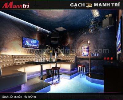 Mẫu Gạch 3D Phòng Karaoke
