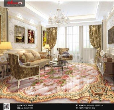 Cách trang trí phòng khách trở nên lộng lẫy và sang trọng.