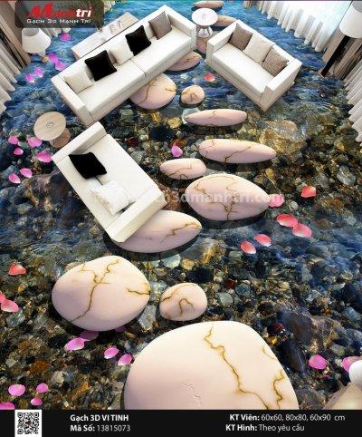 Gạch 3D Suối Thác Đá