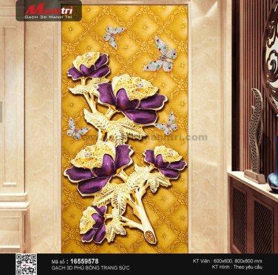 Gạch 3D ốp tường nghệ thuật có giá bao nhiêu 1m2?