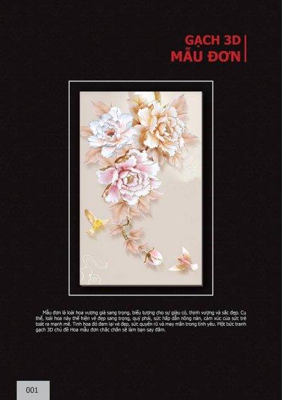 Catalogue chủ đề Hoa Mẫu Đơn
