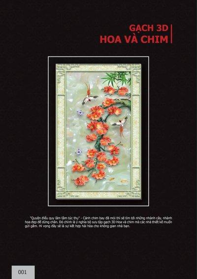 Catalogue chủ đề Hoa và Chim