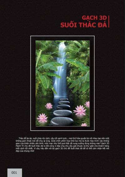 Catalogue chủ đê Suối thác đá