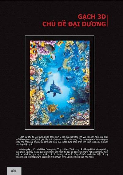 Catalogue chủ đề Đại dương