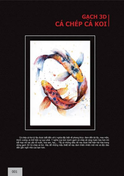 Catalogue chủ đề cá Chép cá Koi