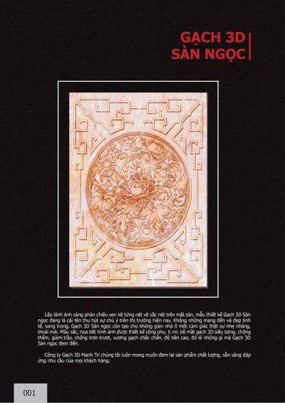 Catalogue chủ đề Sàn ngọc