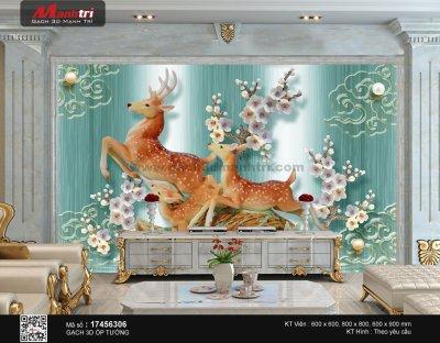 Ý nghĩa một số loài vật xuất hiện trong bức tranh gạch 3D (Phần 1)