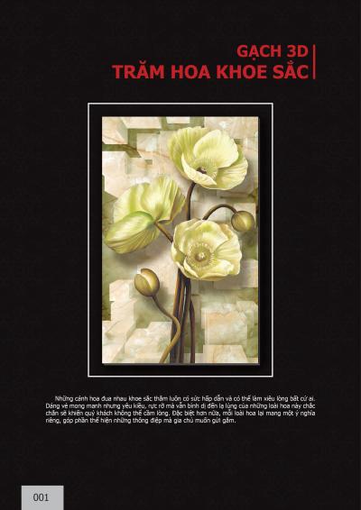 Catalogue chủ đề Loài hoa