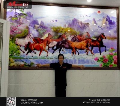 Công trình 3D thực tế tại nhà chị Phương, Quận Tân Bình