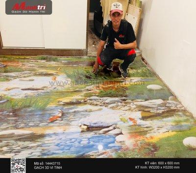 Công trình 3D thực tế tại nhà anh Hoàng, Quận Bình Thạnh
