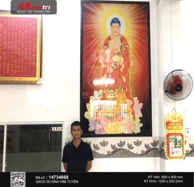 Công trình 3D thực tế tại Tịnh xá Ngọc Kiến, An Giang