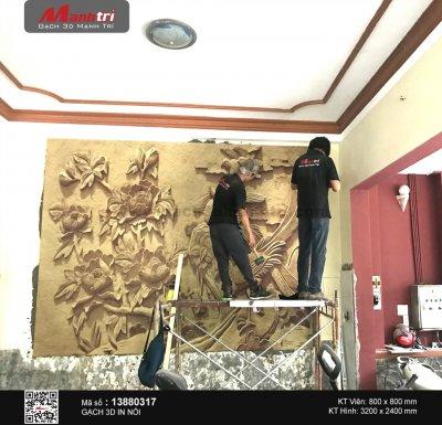 Công trình 3D thực tế tại khách sạn Minh Quân, quận Bình Tân (Phần 1)