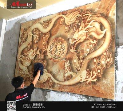 Công trình 3D thực tế tại nhà chị Hà, Bình Thạnh