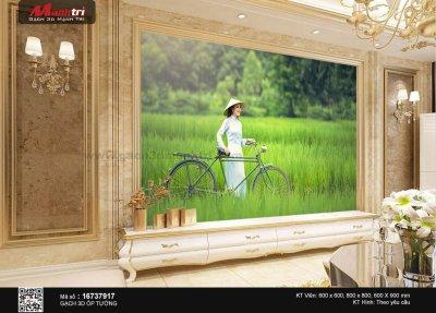 Gạch 3D Vẻ đẹp Việt Nam