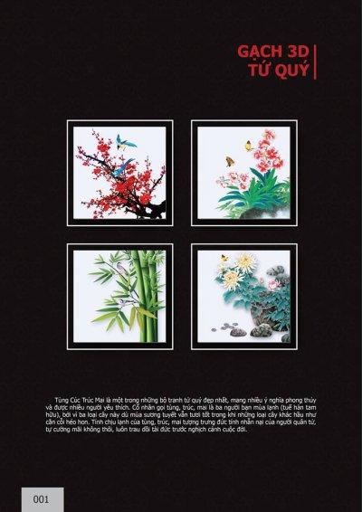 Catalogue chủ đề Tứ quý