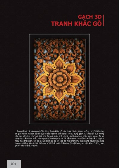 Catalogue chủ đề Tranh khắc gỗ