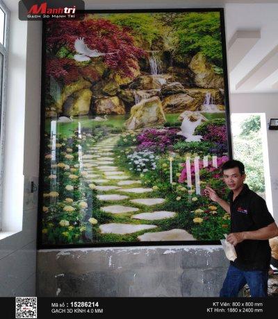 Công trình 3D thực tế tại nhà chú Hùng, Hóc Môn