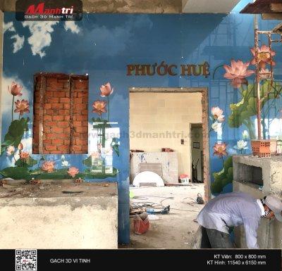 Công trình 3D thực tế tại Hưng Sơn tự, Vũng Tàu (Phần 2)