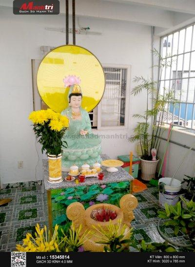 Công trình 3D thực tế tại nhà anh Thành, Tân Phú