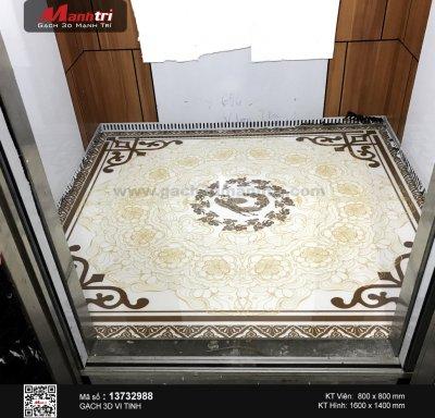 Công trình 3D thực tế tại nhà anh Phong, quận 7