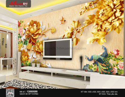 Gạch 3D Mạnh Trí 13060088