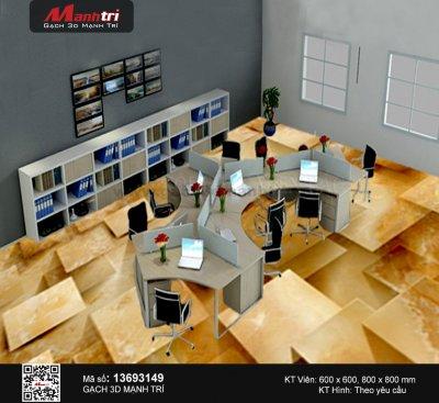 Mẫu Gạch 3D Văn Phòng