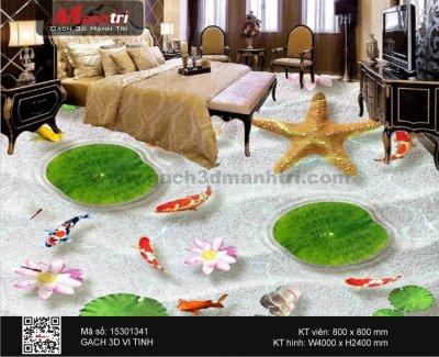 Gạch 3D Cá Chép nền 15301341 - 10.000.000 đ