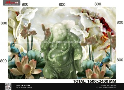 Gạch 3D Phật giáo 16263199 - 3.500.000 đ