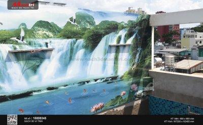 Công trình 3D thực tế tại nhà anh Hậu, quận 10 (Phần 1)