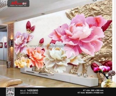 Gạch 3D Hoa Mẫu Đơn 14202693 - 3.490.000 đ/bộ