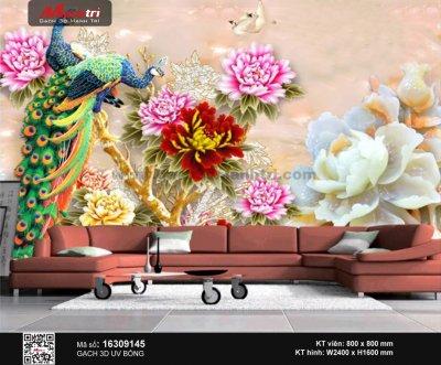 Gạch 3D Chim Công 16309145 - 3.490.000 đ/bộ